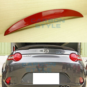 Trunk Spoiler 2016 2019 Performance Type Painted For Mazda Mx 5 Miata Nd 4th