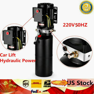 1 Set Of Car Lift Hydraulic Power Unit Fits Hydraulic Pump Vehicle Hoist 2 2 Kw