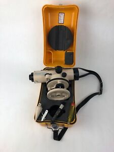 David White Instruments Auto Survey Level Al8 25 With Case Plumb Made In Japan