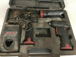 Snap On Cts561 Cordless Drill Driver And Flashlight Kit