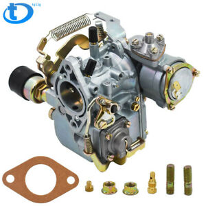Carb Carburetor For Vw 34 Pict 3 12v Electric Choke 1600cc 113129031k Aplus