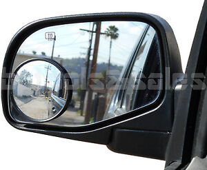 2pc 3 Universal Wide Angle Convex Blind Spot Rear Side View Mirrors Car Truck