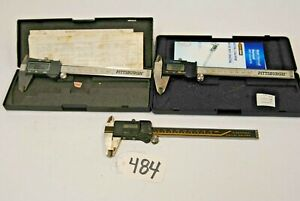 Preowned 6 In Digital Vernier Calipers Lot Of 3