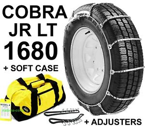 Cobra Jr Lt 1680 Cable Tire Snow Chains