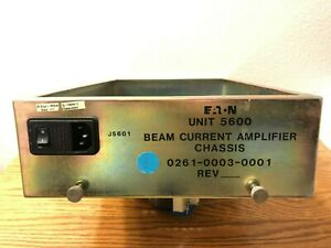 Axcelis eaton 0261 0003 0001 Beam Current Amplifier Chassis