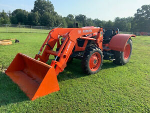 Kubota M5l 111 Low Profile Tractor Used With Front Loader 316 Hrs 4wd