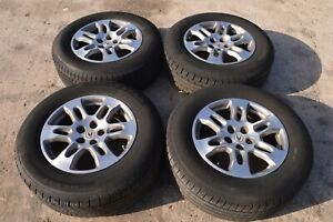 07 09 Acura Mdx 18 Inch Alloy Wheel Rim Rims With Tires 18x8 165 65 18 Set Of 4