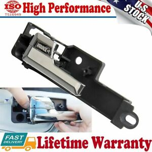 Front Left Driver Side Inside Interior Door Handle Chrome For 06 12 Fusion Milan