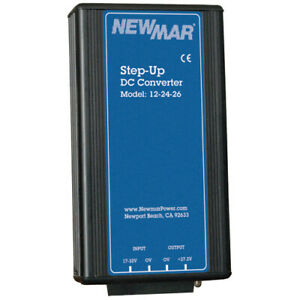 Newmar 12 24 25 Step Up Dc dc Converter 25 Amp Conitnuos