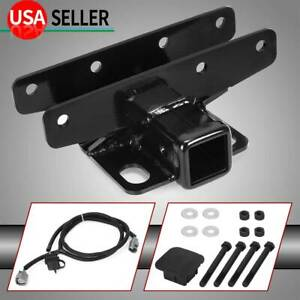 Trailer Hitch Receiver 2 Wire Kit For Jeep 2007 2018 Wrangler Jk Jku