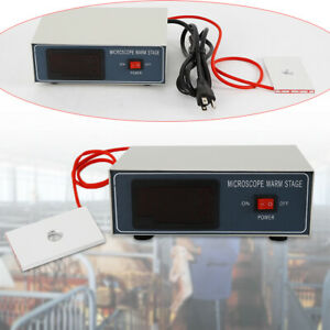 110v Microscope Dedicated Temperature Control Stage Slide Warmer Heating Table