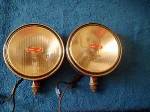Vintage Lucas Chrome Driving Lights Driving Lamp