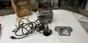 Enco 135 205 6415 Model Milling Power Table Feed Working Used