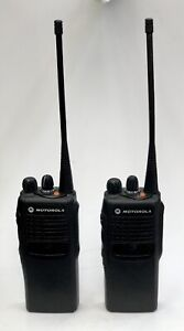Ht750 Aah25rdc9aa2an Two way Radio W Charging Bases Battery Antenna