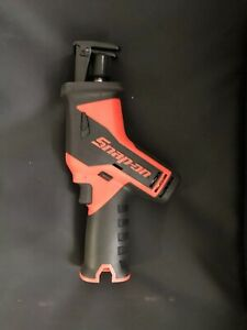 Snap On 14 4 V Microlithium Cordless Orange Reciprocating Saw Ctrs761 Body Only