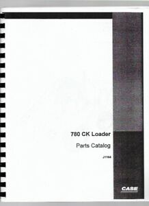 Case 780 Ck Tlb Tractor Loader Backhoe Parts Manual Catalog Construction King