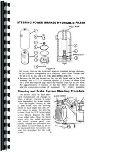 Operators Manual Case 1175 Tractor Sn 8770001 Up