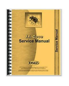 Service Manual Case A 125 Air Cooled Engine