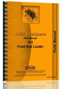 Parts Manual Allis Chalmers H3 Crawler