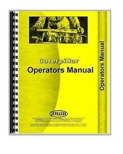 Operators Manual Caterpillar 631 Tractor Scraper S n Ct o631