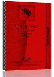 Ih International Harvester 784 Diesel Tractor Chassis Parts Manual Catalog