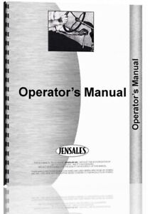 Operators Manual Mac Don 4000 Hay Conditioner