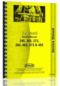 Service Manual Leyland 262 Tractor