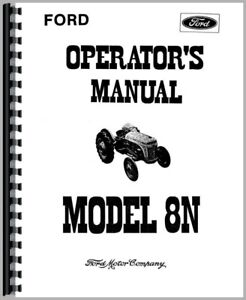 Operators Manual International Harvester 56 Planter