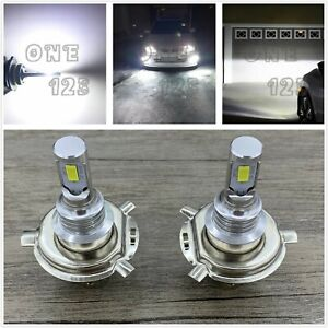 H4 9003 Hb2 6000k Super White 55w Cree Led Headlights Bulbs Kit High Low Beam