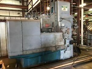 42 Mattison Vertical Spindle Rotary Surface Grinder With Tilting Head