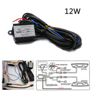 Car Drl Led Fog Light Automatic On Off Controller Module Box Relay Harness