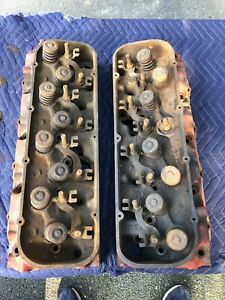 Original 1966 Corvette Chevelle 396 427 Big Block Cylinder Heads 3872702 L 7 5