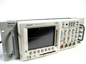 Tektronic Tds3014 Four Channel Color Digital Oscilloscope tektronik Rm3000 Rack