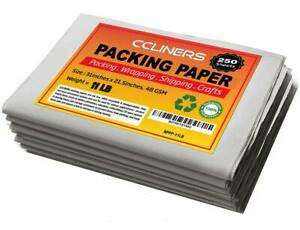 Packing Paper Sheets For Moving 250 Sheets 11 2 Lb Newsprint Paper Packing Su