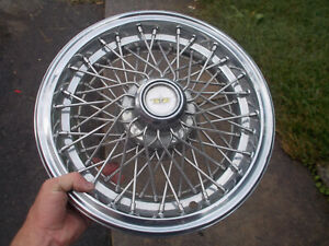 1982 96 Chevrolet Caprice 15 Inch Wire Spoke Hubcap Wheel Cover