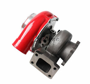 Gt35 Gt3582 Red T3 Ar 70 Ar 63 Float Bearing Turbo Charger 500hps Compressor