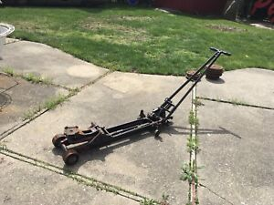 Antique Floor Car Jack Lift