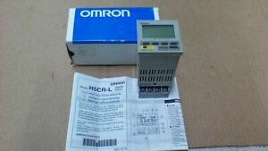 Omron H5cr l Programmable Digital Timer 100vac 240vac Din Mount Base Inclu