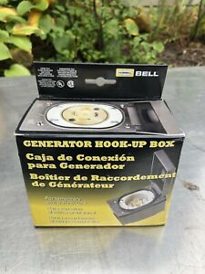 Bell Generator Hook Up Box Hubbell Kit New Box Power Outlet