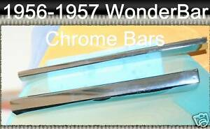 Corvette 1956 Wonder Bar Push Bar Button Chrome Door Would Fit 1957 Wonderbar