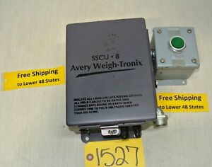 Avery Weigh Tronix Sscu 8 W Reset Button Electrical Electronics Free Ship