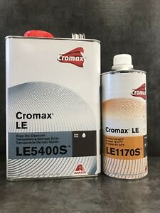 Cromax Le5400s Snap Dry Clearcoat Gallon With Le1170s Activator Quart Dupont