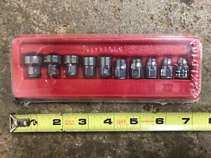 Snap On Tools 110rt 1 4 Low Profile Flank Drive 12 Pt Sae Socket Set Brand New
