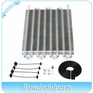 Transmission Oil Cooler 1405 Towing Up To 26 000 Lbs 3 4 Thick H q 1 2 Long