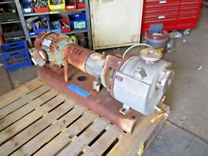 Durco mark 3 1 1 2 X 2 10 Stainless Self priming Pump 10 Hp Motor 912230j