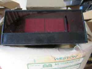 Weston 2463 Digital 0 10vdc Panel Meter New With Free Shipping