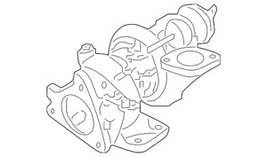 Genuine Nissan Turbocharger 14411 1kc1e