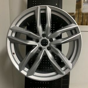 20 Silver Rs6 Style Wheels Rims Fits Vw Volkswagen Eos Cc R32 5x112 Brand New