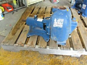 Gorman Rupp 80 Series 2 Self priming Centrifugal Pump 913900j Used