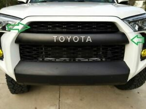 2ps New Bumper For 2014 2019 4runner Trd Pro Grille Top Quality Pz323 35056